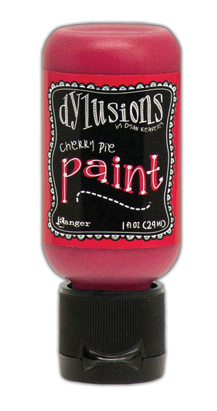 Dylusions Paint Flip Cap Cherry Pie