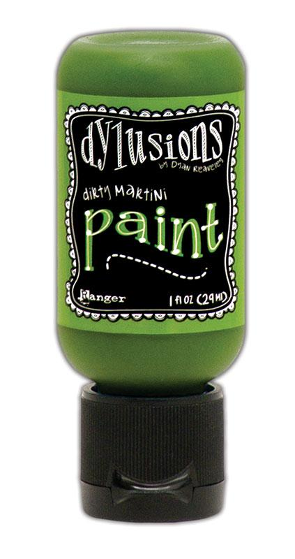 Dylusions Paint Flip Cap Dirty Martini