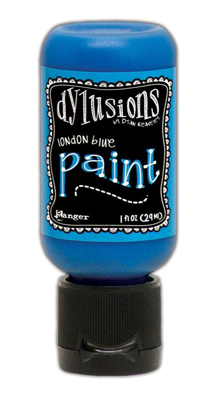 Dylusions Paint Flip Cap London Blue