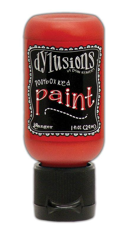 Dylusions Paint Flip Cap Postbox Red