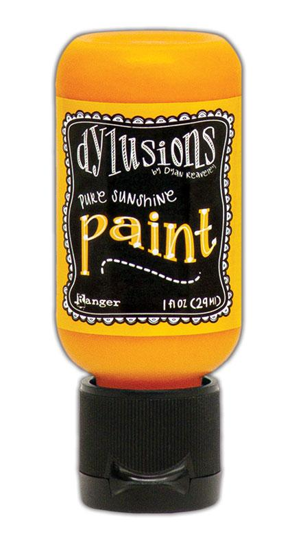 Dylusions Paint Flip Cap Pure Sunshine