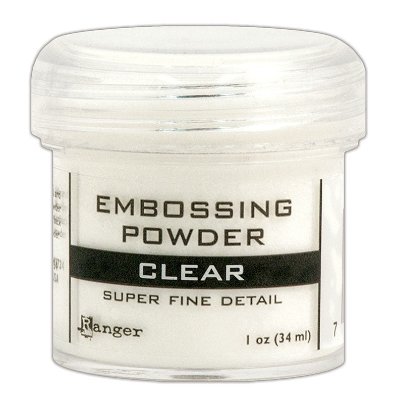 Embossing Powder Super Fine - Clear