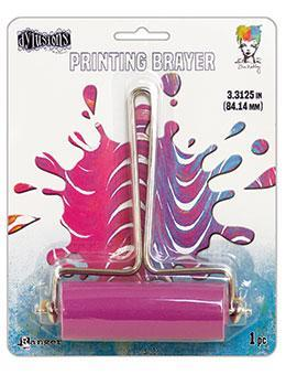 Gel Plate Printing Brayer Medium