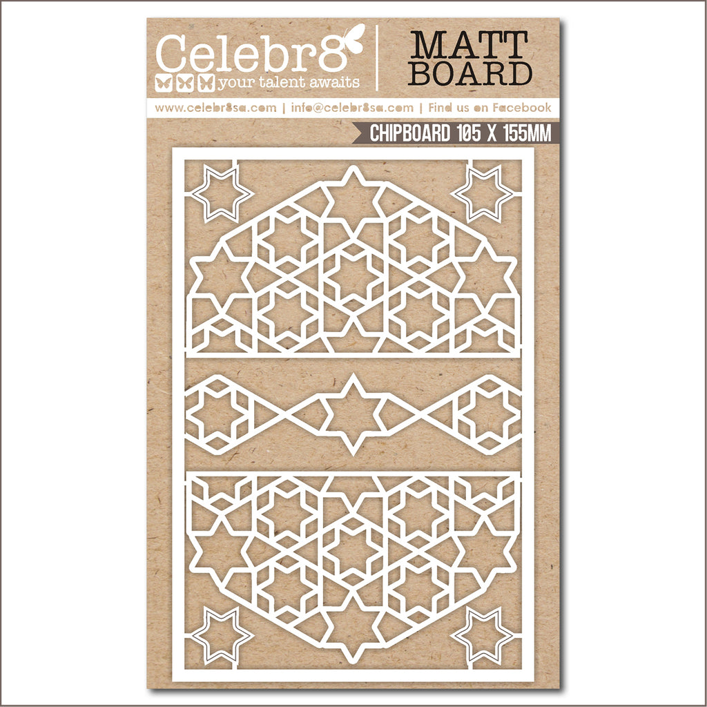 Celebr8 Chipboard - Tis the Season Mesh
