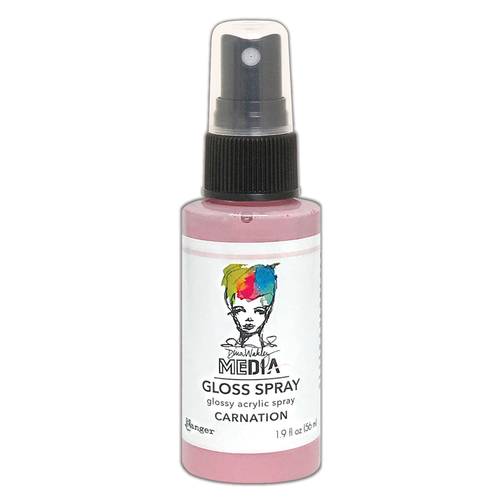 Dina Wakley Media Gloss Spray Carnation