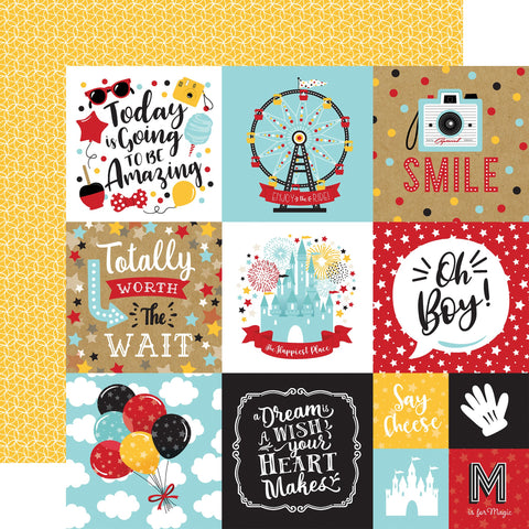 Remember the Magic 4x4 Journaling Cards