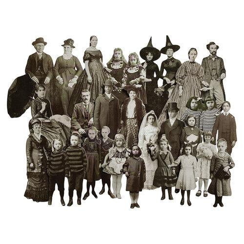 Tim Holtz Idea-ology Paper Dolls Halloween