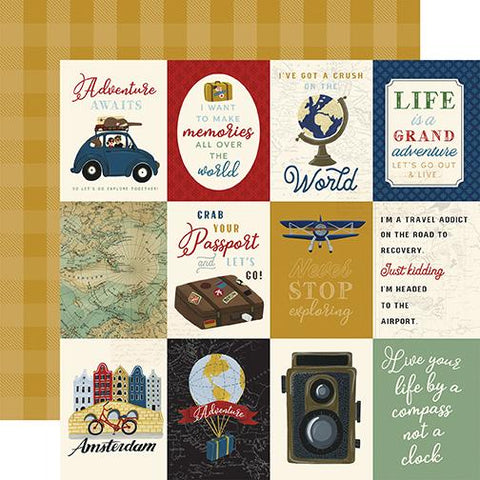Scenic Route 3x4 Journaling Cards