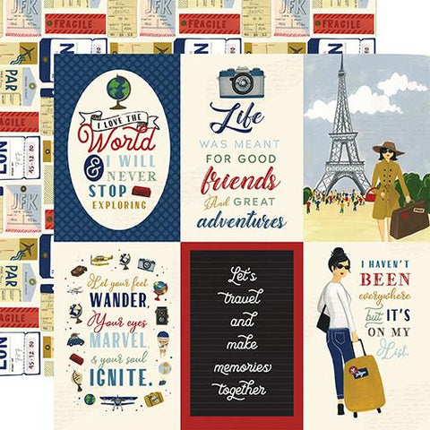 Scenic Route 4x6 Journaling Cards