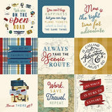Scenic Route 4x4 Journaling Cards