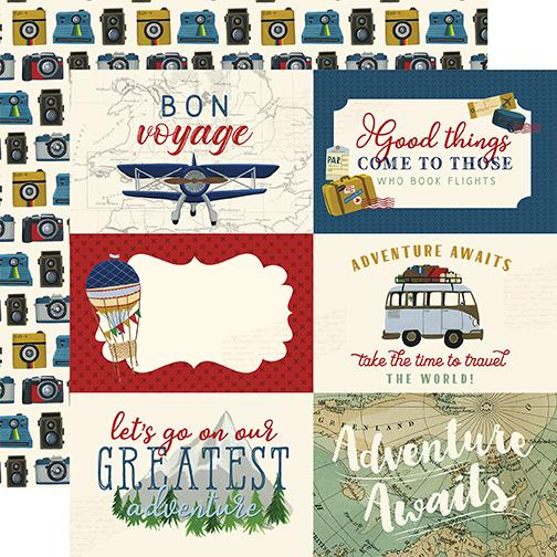 Scenic Route 6x4 Journaling Cards