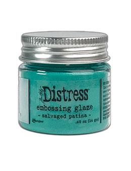 *NEW* Tim Holtz Distress Embossing Glaze Salvaged Patina