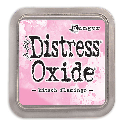 Tim Holtz Distress Oxide Pad Kitsch Flamingo