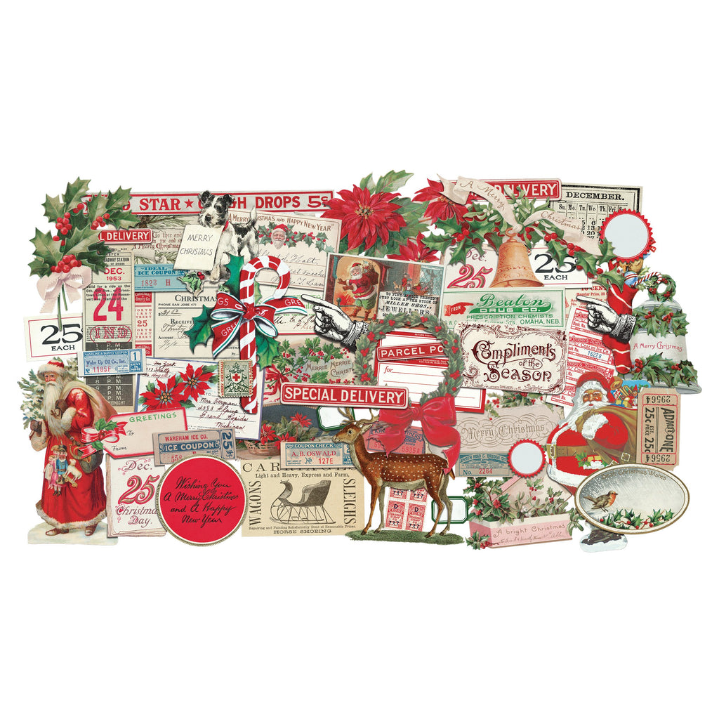 Tim Holtz Idea-ology 2020 - Ephemera Pack Christmas