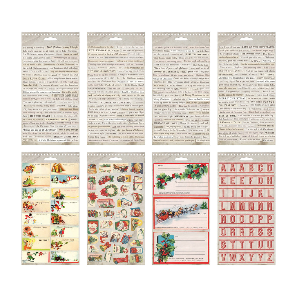 Tim Holtz Idea-ology 2020 - Sticker Book Christmas