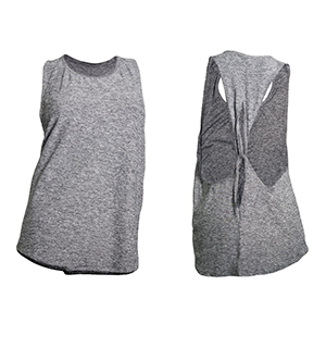 Beyond Yoga Lightweight Looped Tank - Blk/Wht
