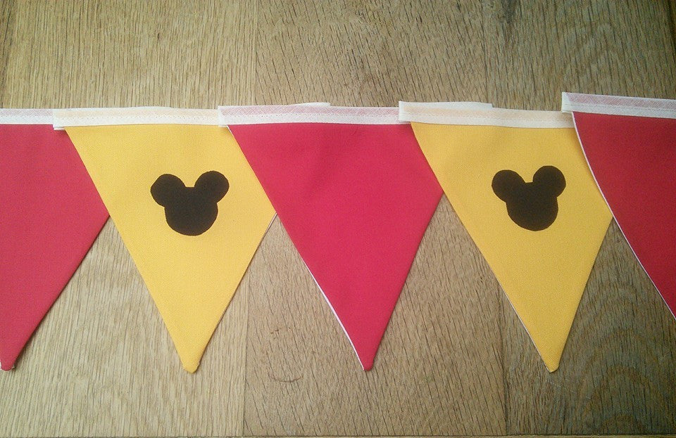 Mickey Mouse Bunting - 2 styles