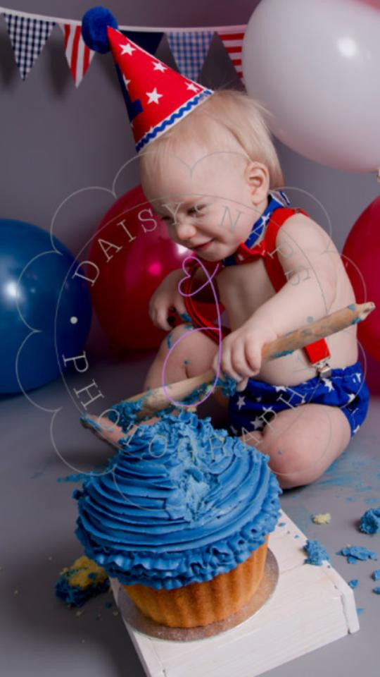 Boys Star Cake Smash Outfit