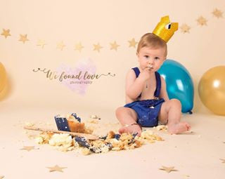 Gold and Silver Glitter Boys and Girls Crowns - RTS
