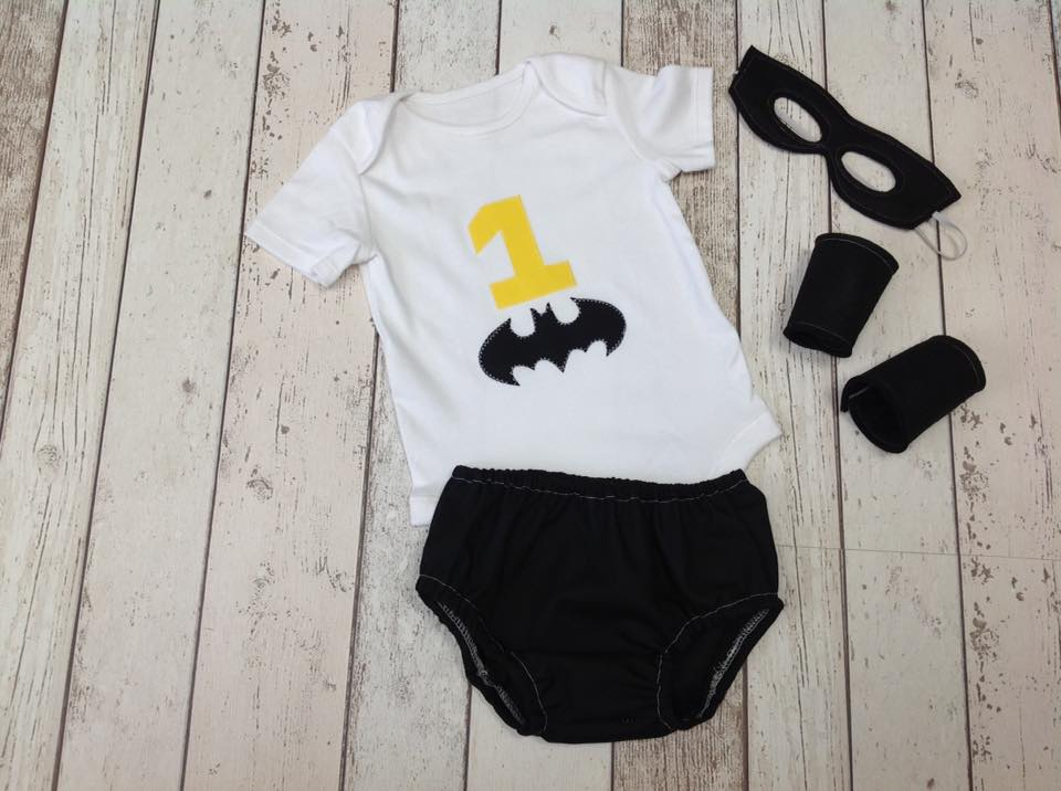 Boys Super Hero Set - age 12-18 months -Cake Smash - Play - Photography