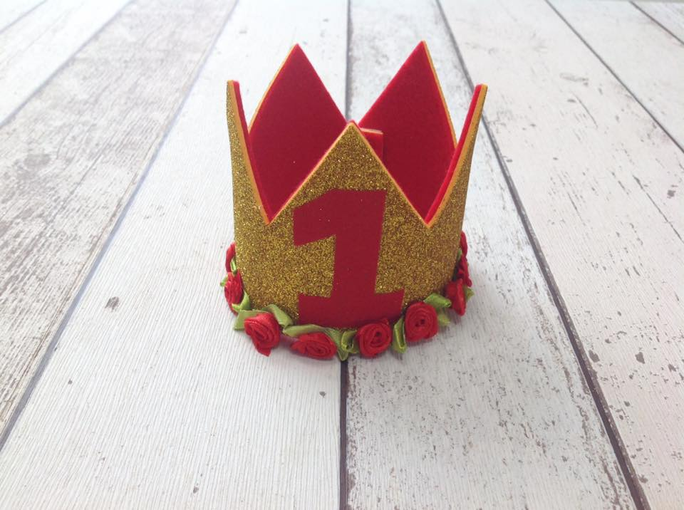 Beauty and the Beast Inspired Crown - Cake Smash - Dress and Play