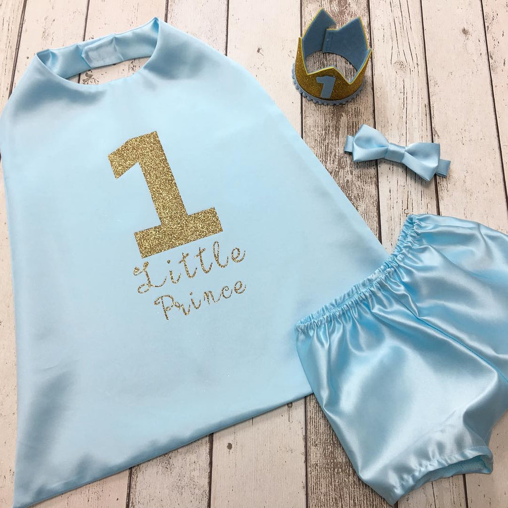 little prince cake smash outfit