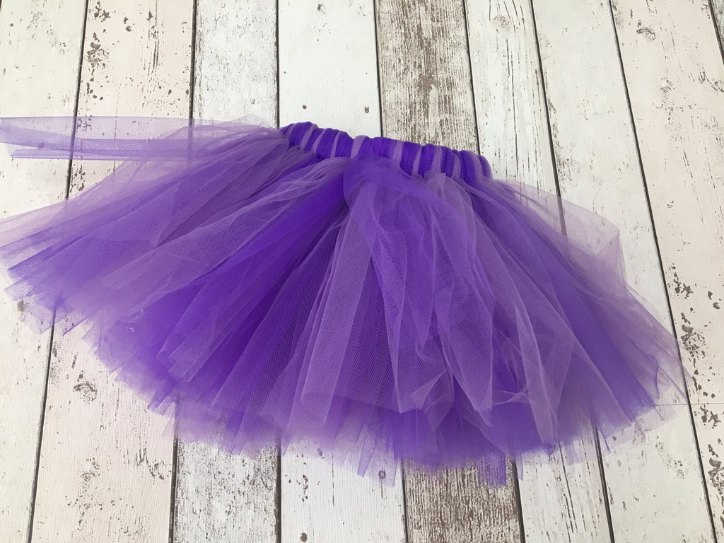 Girls Mixed Purple Tutu - age 1-2 years