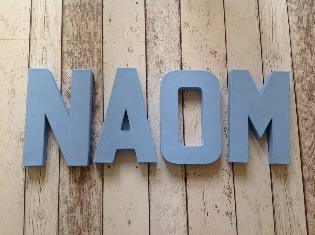Painted Letters - Design Your Own - Name - Word