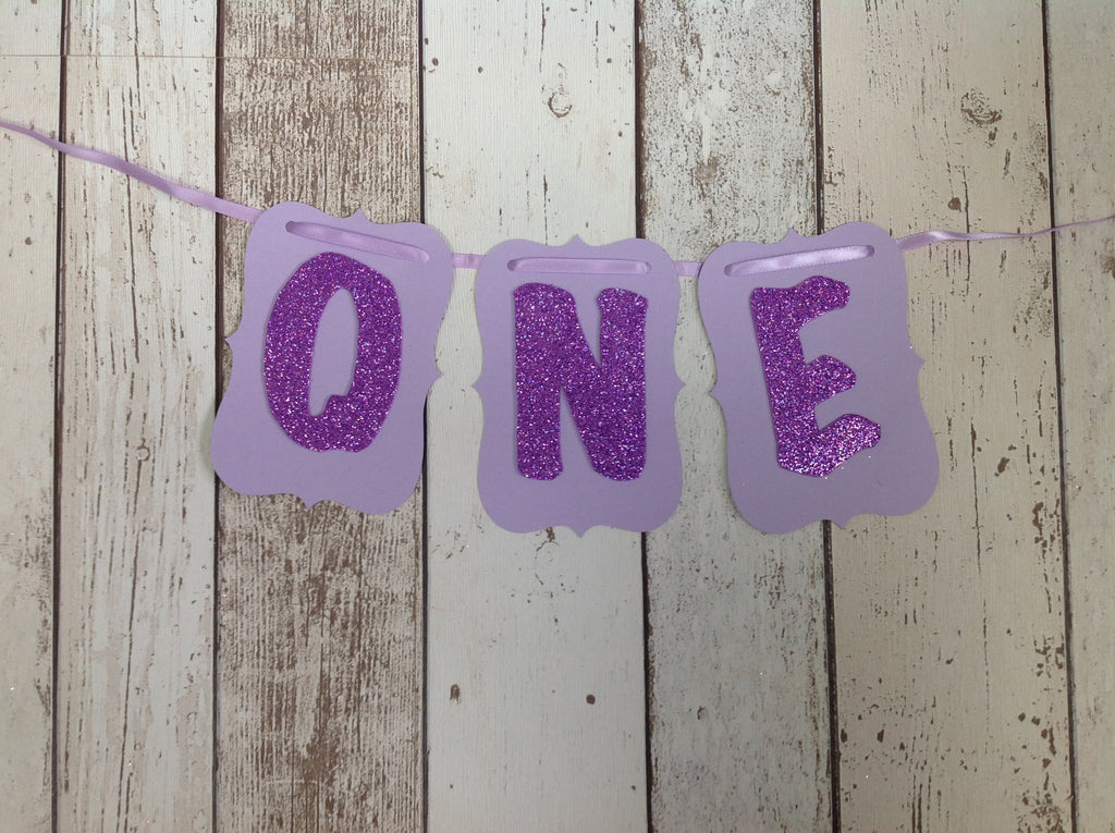 ONE Paper Bunting - Various Colours Available - RTS