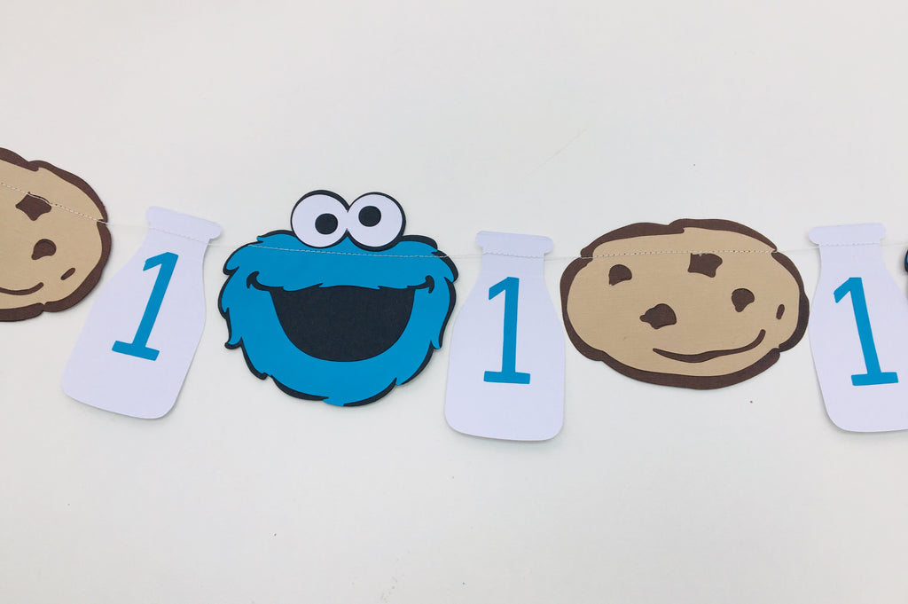 Cookie Monster bunting