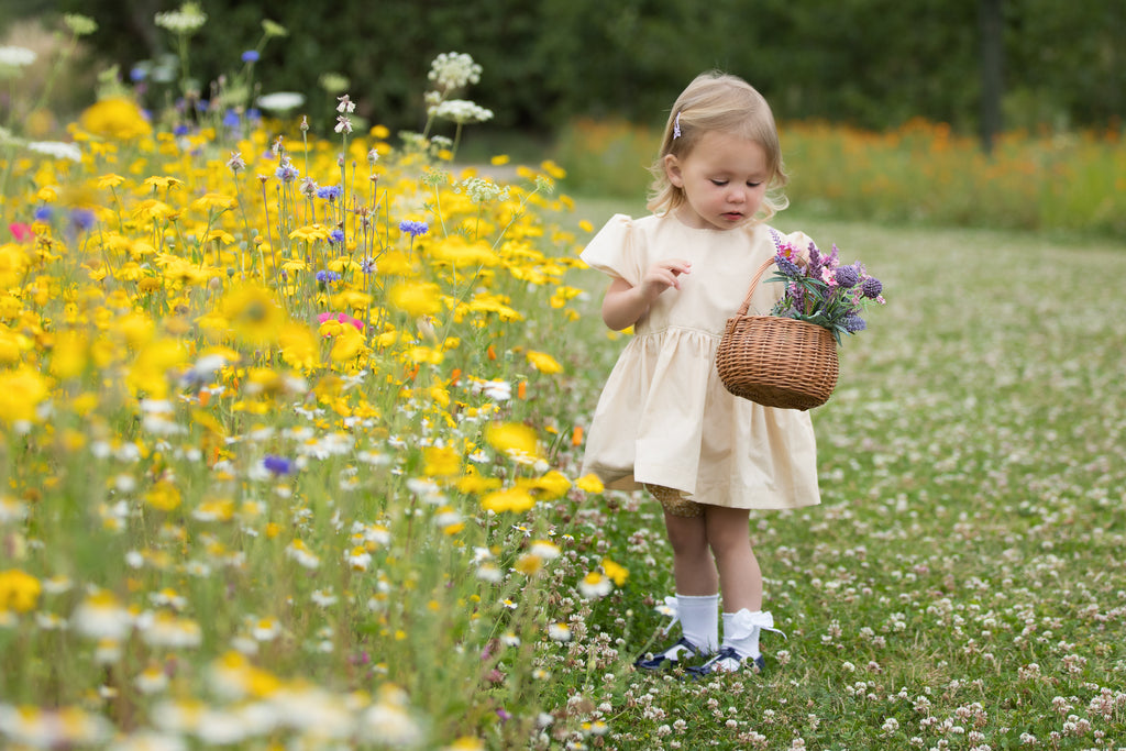Girls mustard coloured tunic and pants - photography shoot - special occasions
