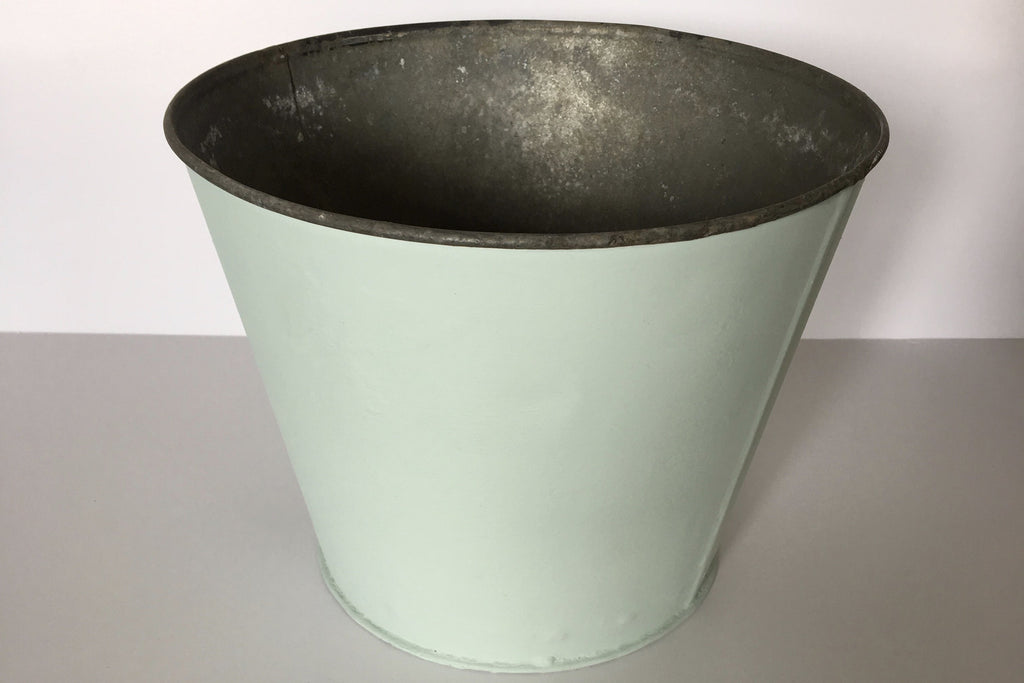 Vintage painted posing buckets - photography prop - newborn prop - bucket prop - studio prop - bucket prop