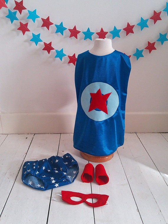 Boys Super Hero Cake Smash Set -Age 12-18 months