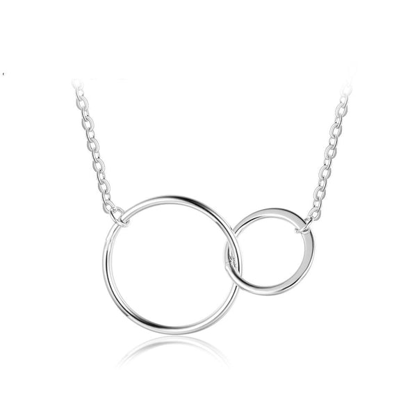 Orion silver necklace