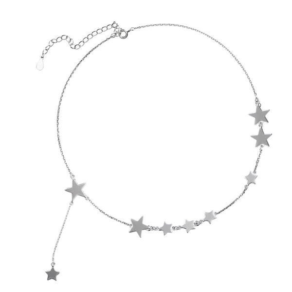 Constellation silver necklace