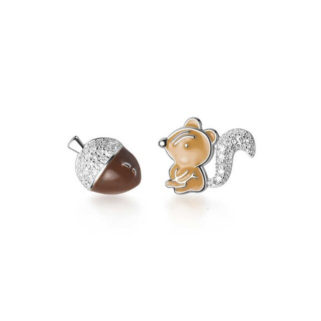 Ice age silver studs