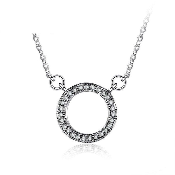 Sparkles silver necklace
