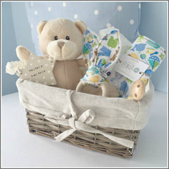 Handmade Baby Shower Gift Basket New Baby