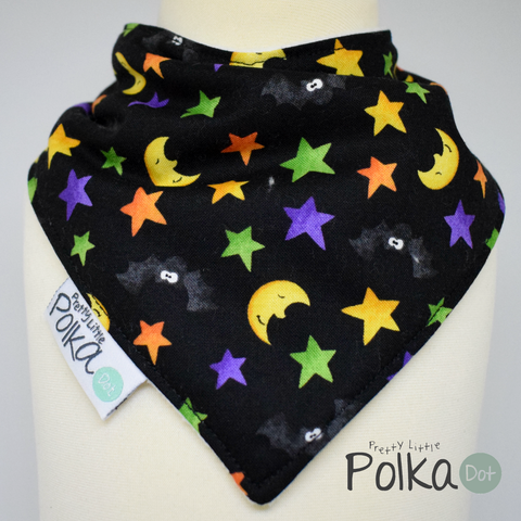 Moon and Stars LIMITED EDITION Halloween Bib