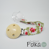 Green Provence Rose Dummy Clip