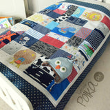Baby Clothes Keepsake Quilt