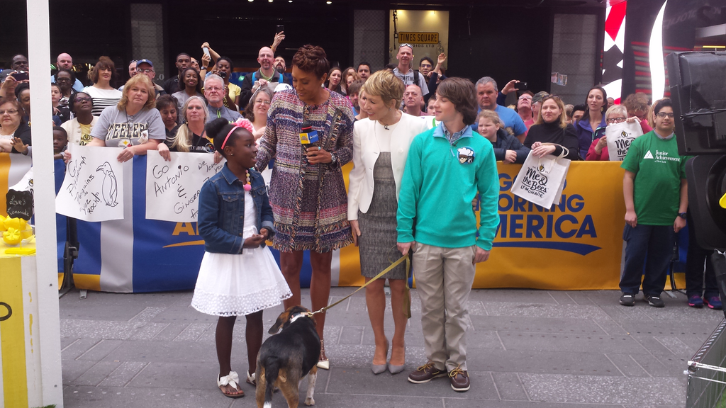 Mikaila on Good Morning America with Robin Roberts