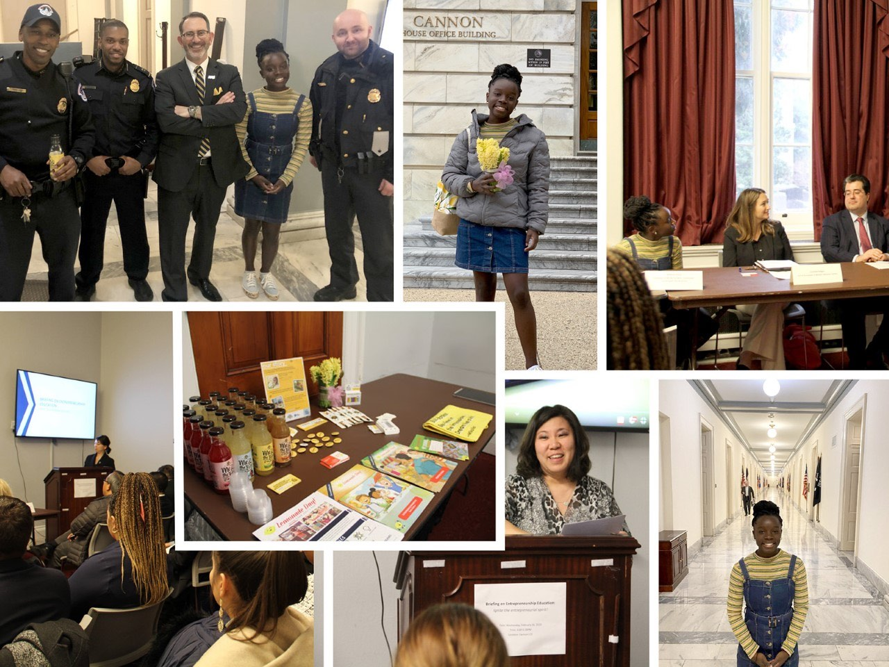 Mikaila Goes to Washington to Advocate for Youth Entrepreneurship