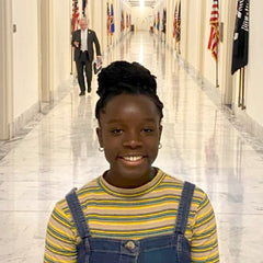 Mikaila Advocating at the capitol