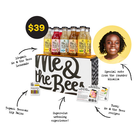 Me & the Bees Lemonade 10-Bottle Variety Gift Bundle