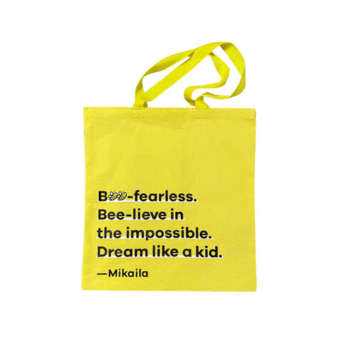 Bee Fearless Tote Bag
