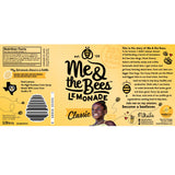 Me & the Bees Classic Lemonade Nutrition