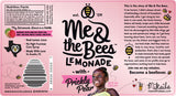 Me & the Bees Lemonade with Prickly Pear Nutrition