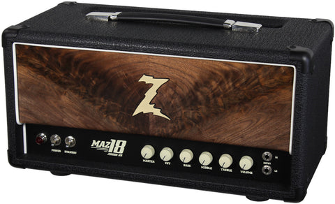 Dr. Z Maz 18 Jr NR Head - Custom Burl Walnut #3