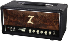 Dr. Z Maz 18 Jr NR Head - Custom Burl Walnut #5